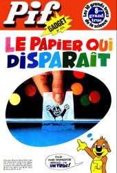 Pif (Gadget) -373- Le papier qui disparait