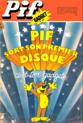 Pif (Gadget) -401- Pif sort sont premier disque