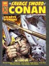 Savage Sword of Conan (The) (puis The Legend of Conan) - La Collection (Hachette) -35- Un rêve d'empire