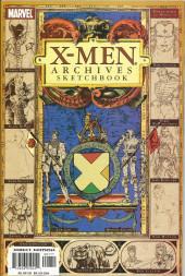 X-Men Archives Sketchbook - Tome 1
