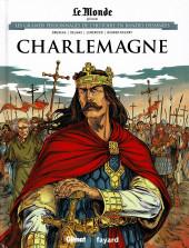 Les grands Personnages de l'Histoire en bandes dessinées -3- Charlemagne