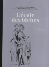 Les grands Classiques de la Bande Dessinée érotique - La Collection -7481- L'école des biches
