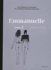 Les grands Classiques de la Bande Dessinée érotique - La Collection -756- Emmanuelle - Tome 2