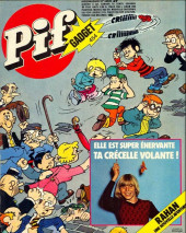Pif (Gadget) -454- Elle est super énervante ta crécelle volante