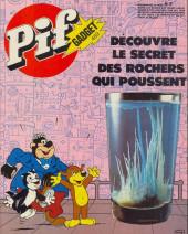 Pif (Gadget) -469- Découvre le secret des roches qui poussent