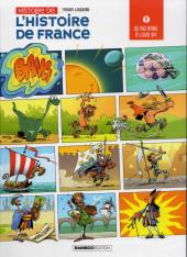 Histoire de l'Histoire de France -1- Du big bang à Louis XIV