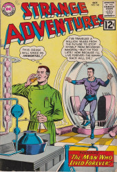 Strange adventures (1950) -145- The man who lived forever!