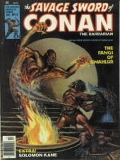 Savage Sword of Conan The Barbarian (The) (1974) -25- The Fangs of Gwahlur
