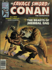 Savage Sword of Conan The Barbarian (The) (1974) -27- The Beasts of Jhebbal Sag