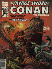 Savage Sword of Conan The Barbarian (The) (1974) -29- Child of Sorcery