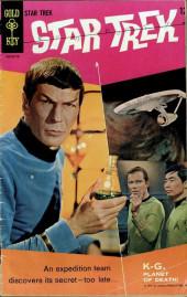 Star Trek (1967) (Gold Key) -1- K-G, Planet of Death!