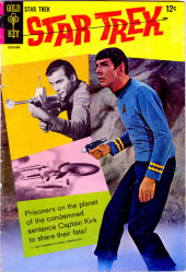 Star Trek (1967) (Gold Key) -2- Prisoners on the Planet of the Condemned Sentence Captain Kirk to Share Their Fate!