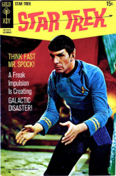 Star Trek (1967) (Gold Key) -6- Think Fast Mr. Spock!