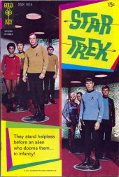 Star Trek (1967) (Gold Key) -8- They Stand Helpless Before an Alien Who Dooms Them.. To Infancy!