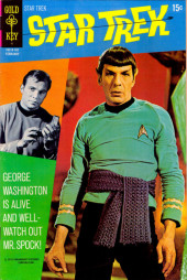 Star Trek (1967) (Gold Key) -9- George Washington Is Alive and Well -- Watch Out Mr. Spock!