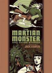 EC Comics Library (The) (2012) -INT24- The martian monster and other stories (Jack Kamen)