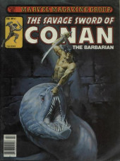 Savage Sword of Conan The Barbarian (The) (1974) -61- The Wizard Fiend of Zingara!