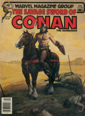 Savage Sword of Conan The Barbarian (The) (1974) -76- Dominion of the Bat!