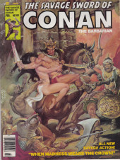 Savage Sword of Conan The Barbarian (The) (1974) -49- When Madness Wears the Crown!