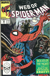 Web of Spider-Man (1985) -53- Wolves in the night
