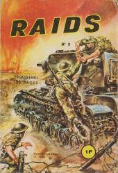 Raids -9- Shermans contre tigres
