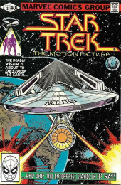 Star Trek (1980) (Marvel comics) -3- The Deadly V'ger Is About to Destroy the Earth...