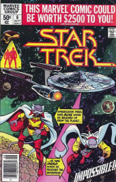 Star Trek (1980) (Marvel comics) -6- Impossible!!