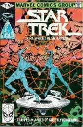 Star Trek (1980) (Marvel comics) -9- Kirk, Spock, The Enterprise... ...Trapped in a Web of Ghostly Vengeance!