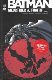 Batman : Meurtrier & fugitif -3- Tome 3