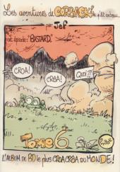 Les aventures de Corback ! le p'tit corbeau -6- Bastard