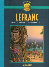 Lefranc - La Collection (Hachette) -14- La colonne