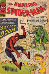 Amazing Spider-Man (The) Vol.1 (Marvel comics - 1963) -5- Doctor Doom!
