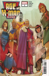 Age of X-Man Alpha (2019) -1- Welcome to a Perfect World