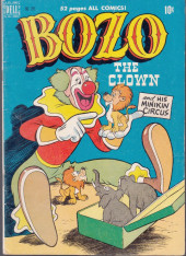 Four Color Comics (Dell - 1942) -285- Bozo the Clown and His Minikin Circus