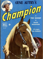 Four Color Comics (Dell - 1942) -287- Gene Autry's Champion in The Ghost of Black Mountain
