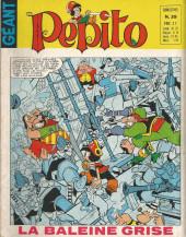 Pepito (3e Série - SAGE) (Numéro Géant) -39- La baleine grise