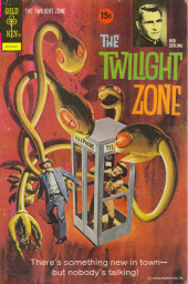 Twilight Zone (The) (Gold Key - 1962) -47- There's something new in town - but nobody's talking!