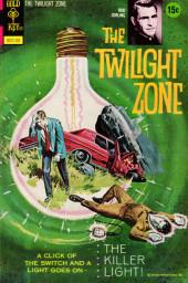 Twilight Zone (The) (Gold Key - 1962) -48- The Killer Light!