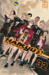 Haikyu !! Les As du Volley -32- Tome 32