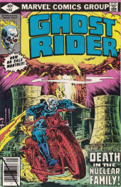 Ghost Rider Vol.2 (Marvel comics - 1973) -40- Death in the Nuclear Family!