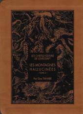 Les chefs-d'œuvre de Lovecraft -2- Les montagnes hallucinées - Tome 2