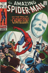 Amazing Spider-Man (The) (1963) -80- On The Trail of...the Chameleon!