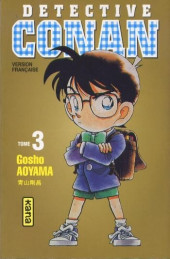 Détective Conan -3b- Tome 3