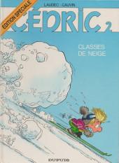 Cédric -2ES- classes de neige