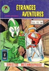 Étranges aventures (1re série - Arédit) -60- Sinistre métamorphose