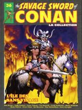 Savage Sword of Conan (The) (puis The Legend of Conan) - La Collection (Hachette) -36- L'Île des sans-visage