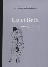 Les grands Classiques de la Bande Dessinée érotique - La Collection -7616- Liz et Beth - Tome 5
