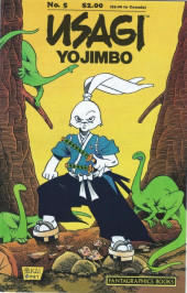 Usagi Yojimbo (1987) -5- No. 5
