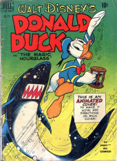 Four Color Comics (Dell - 1942) -291- Donald Duck in The Magic Hourglass