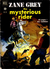 Four Color Comics (Dell - 1942) -301- Zane Grey The Mysterious Rider